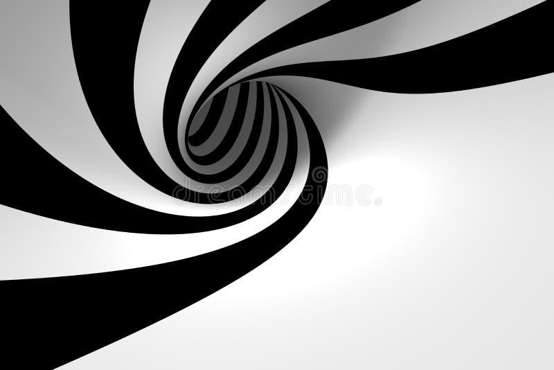 Spirale abstraite illustration de vecteur
