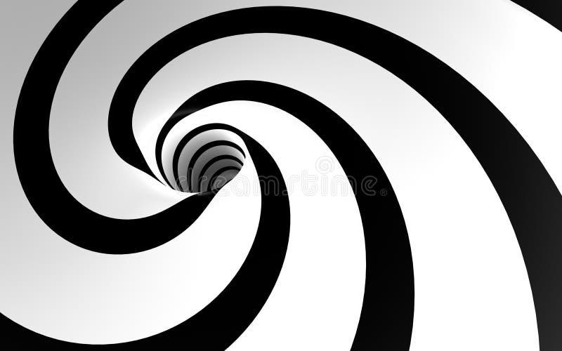 Spirale bizzarra illustrazione vettoriale