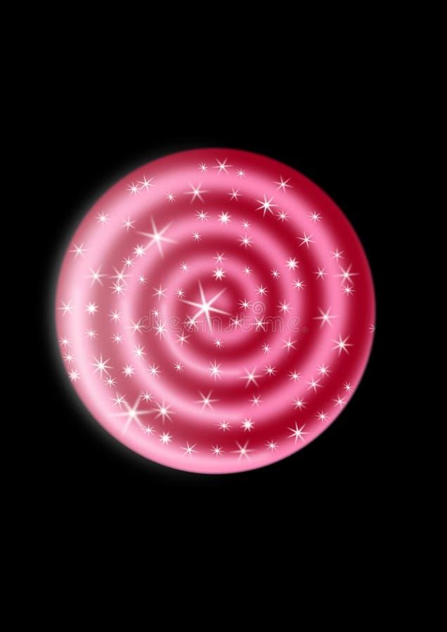 Spirale d'hypnose illustration libre de droits