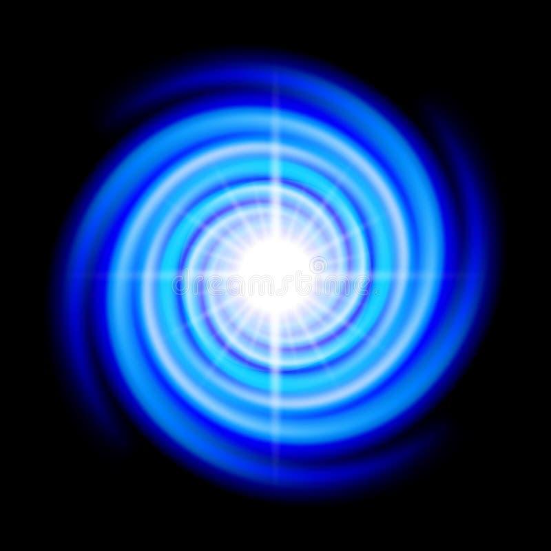 Spirale de l'espace illustration de vecteur