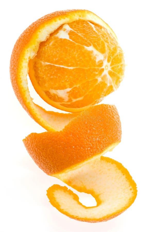 spirale de peau d'orange photo libre de droits