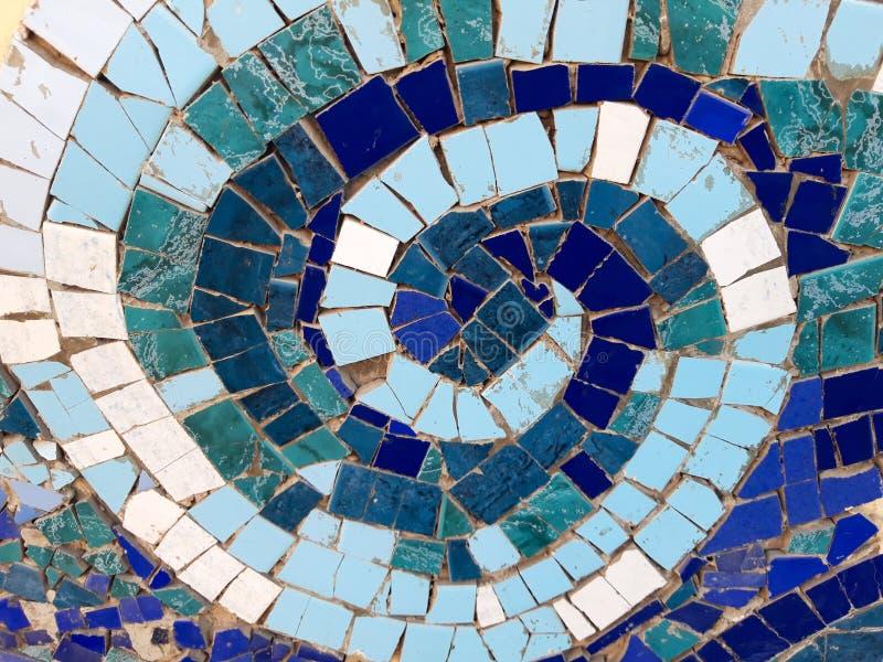 Spirale del mosaico immagine stock libera da diritti