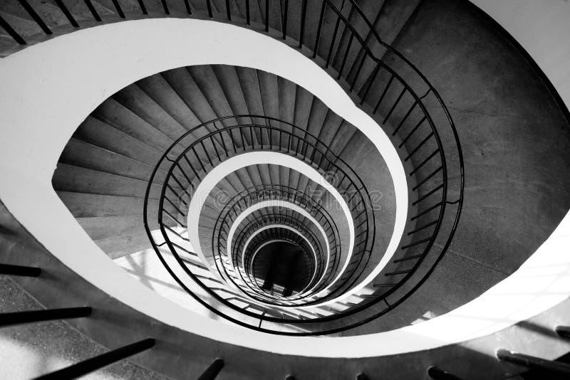 Spirale delle scale immagine stock libera da diritti