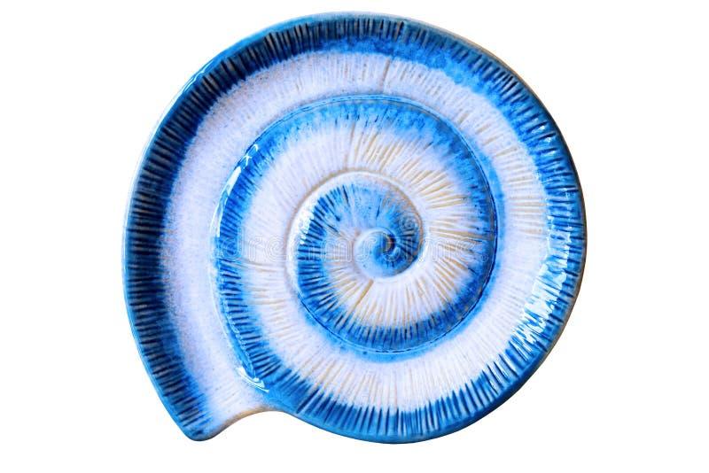 Spirale di ceramica fotografia stock libera da diritti