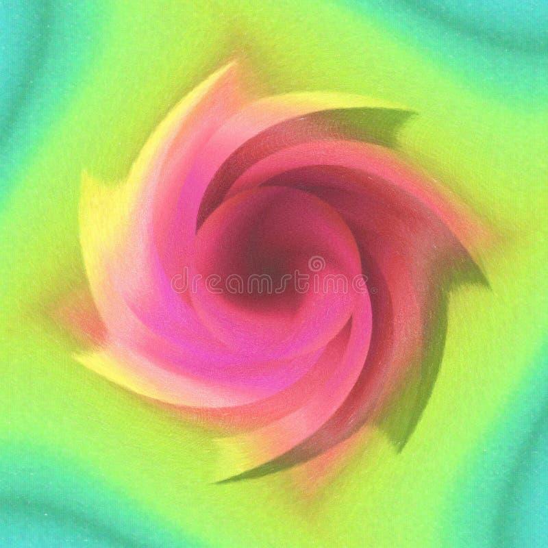 Download Spirale di colore illustrazione di stock. Illustrazione di pink - 212731