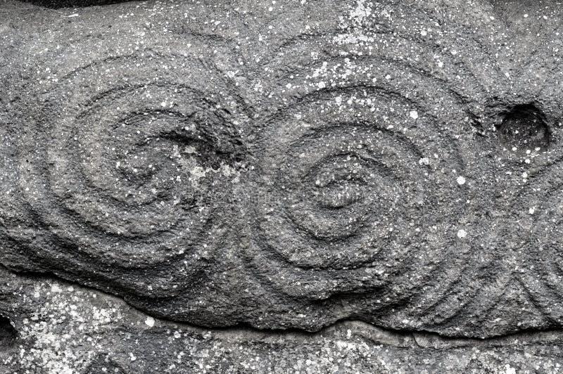 Spirale di Newgrange fotografia stock