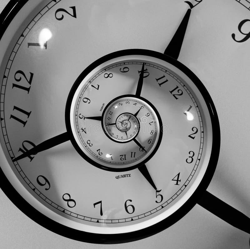 Spirale di tempo fotografia stock libera da diritti