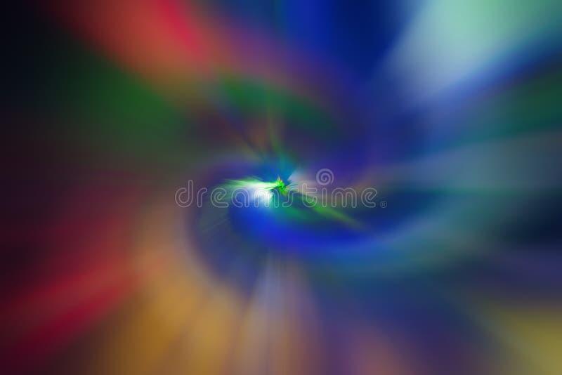 Spirale nuageuse multicolore de texture de fond illustration libre de droits