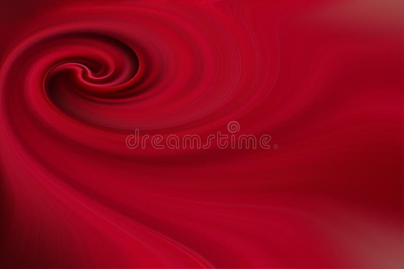 Spirale rouge de texture de fond illustration de vecteur