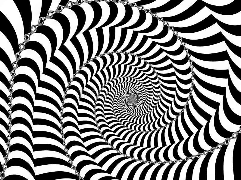 Spirale serrée illustration de vecteur