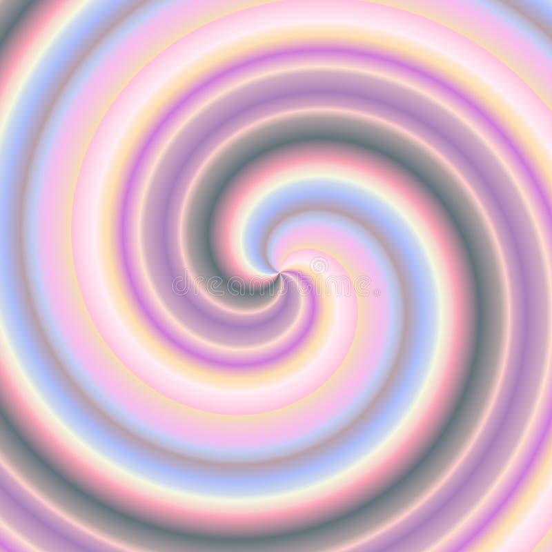 Spirale variée photographie stock libre de droits