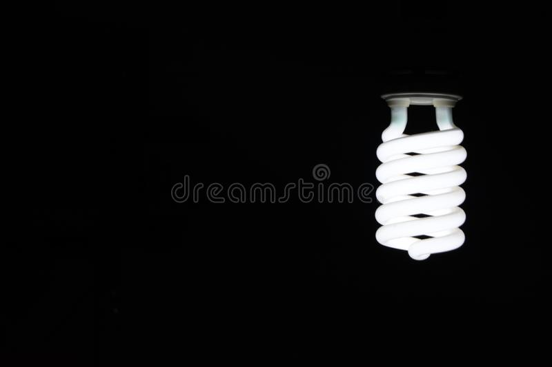 Spiraled light bulb