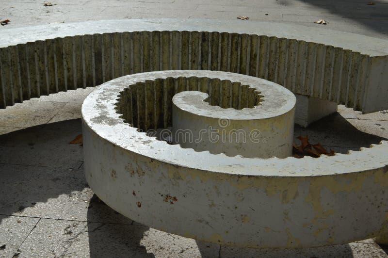 Spiralen arkivbilder
