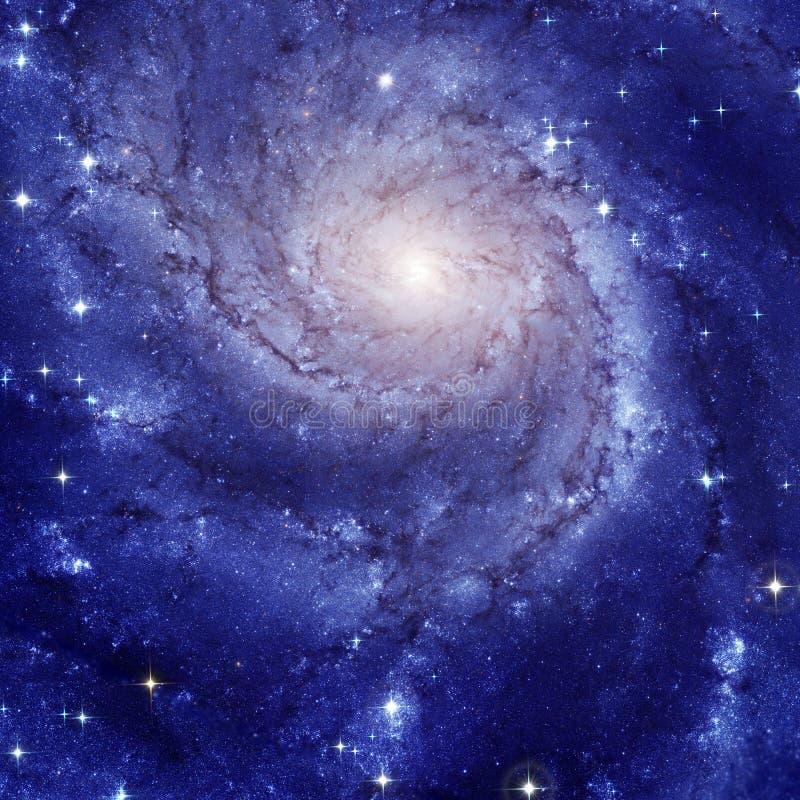 Spiralgalax M101 royaltyfri bild