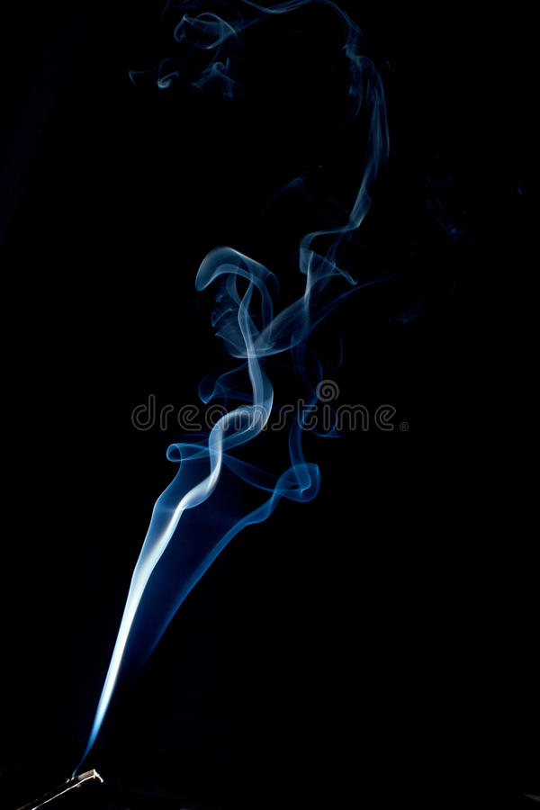 Download Spiraling Smoke Abstract On Black Stock Image - Image: 14744715