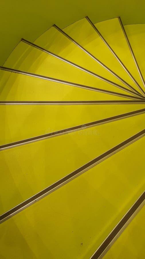 Spiraling Stair Stappen royalty-vrije stock afbeeldingen