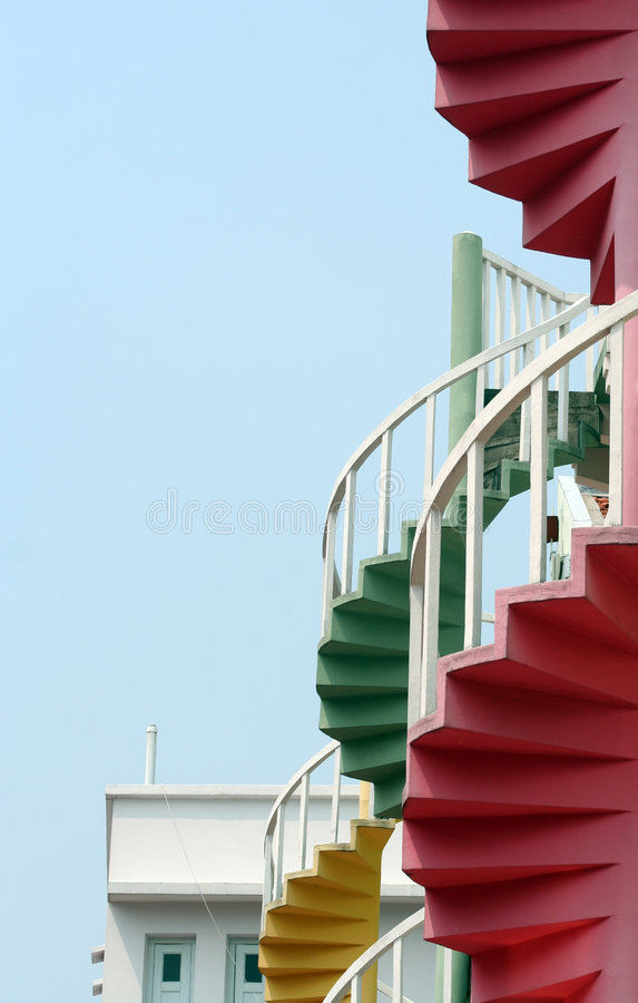 Spirals royalty free stock photography