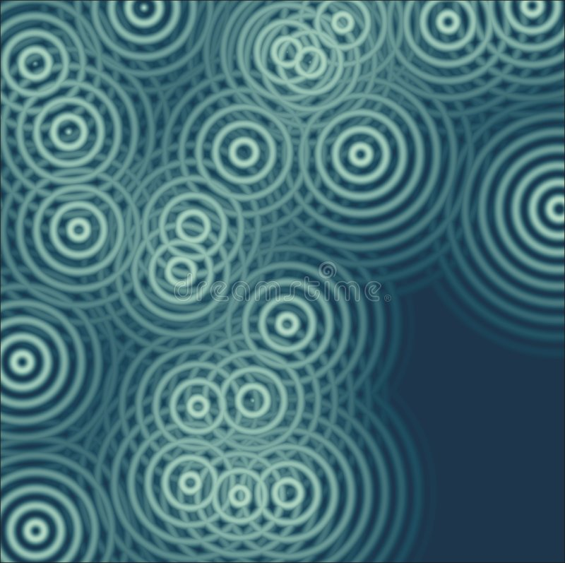 Spirals background. Many blue spirals graphic ullistration royalty free illustration