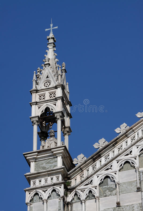 Download Spire Of The Cathedral In Monza Stock Photo - Image of religious, italy: 19207264