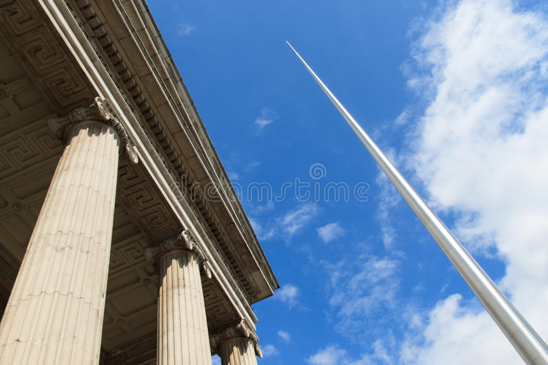 Download Spire Of Dublin & Post Office Stock Image - Image: 28689253