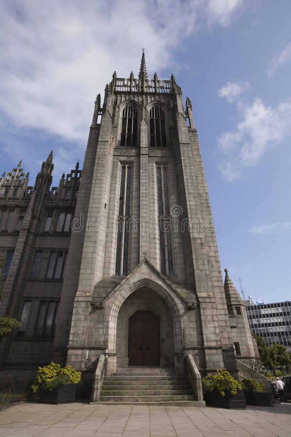 Download The Spire Of Marshall College, Aberdeen, UK Stock Photo - Image: 7126684