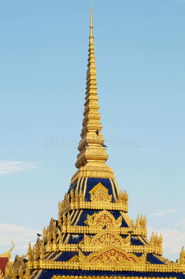 Download Spires Of Cambodian Royal Palace Stock Image - Image: 23699573