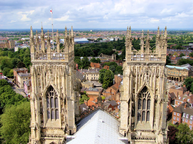Download Spires of York stock image. Image of cathedral, gothic - 18450091