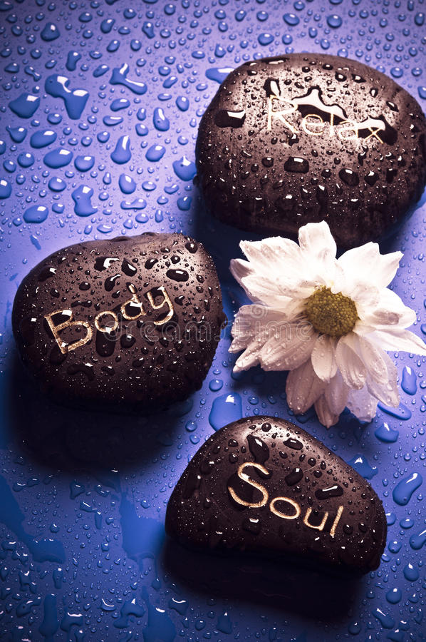 Spirit and body wellness royalty free stock image