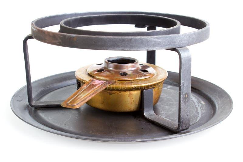 Download Spirit cooker stock image. Image of flame, brass, metal - 25730627