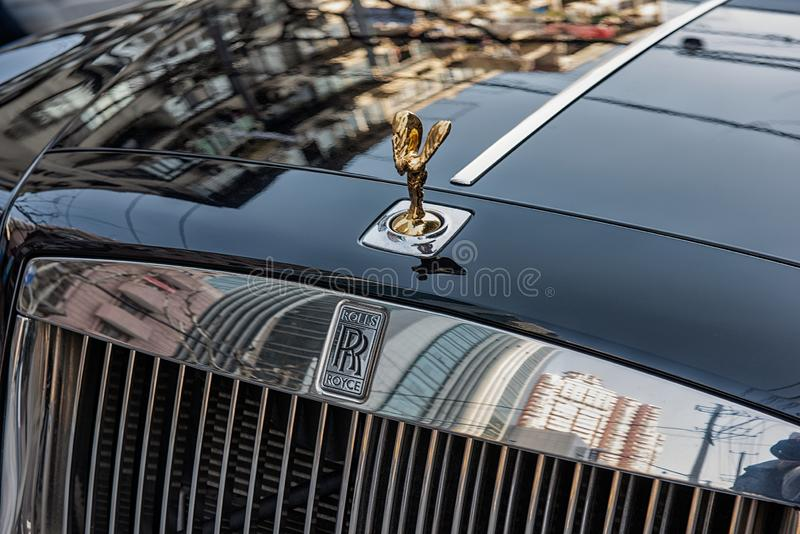 Spirit of Ecstasy stock photo