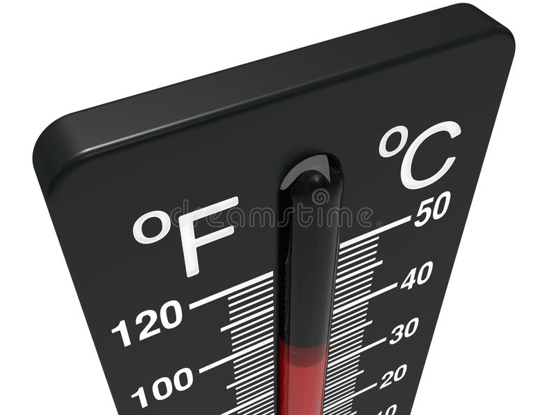Spirit The Thermometer Royalty Free Stock Photos