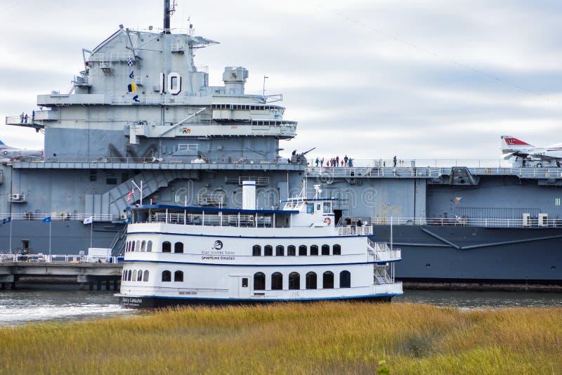 SpiritLine Harbor Cruises royalty free stock photography