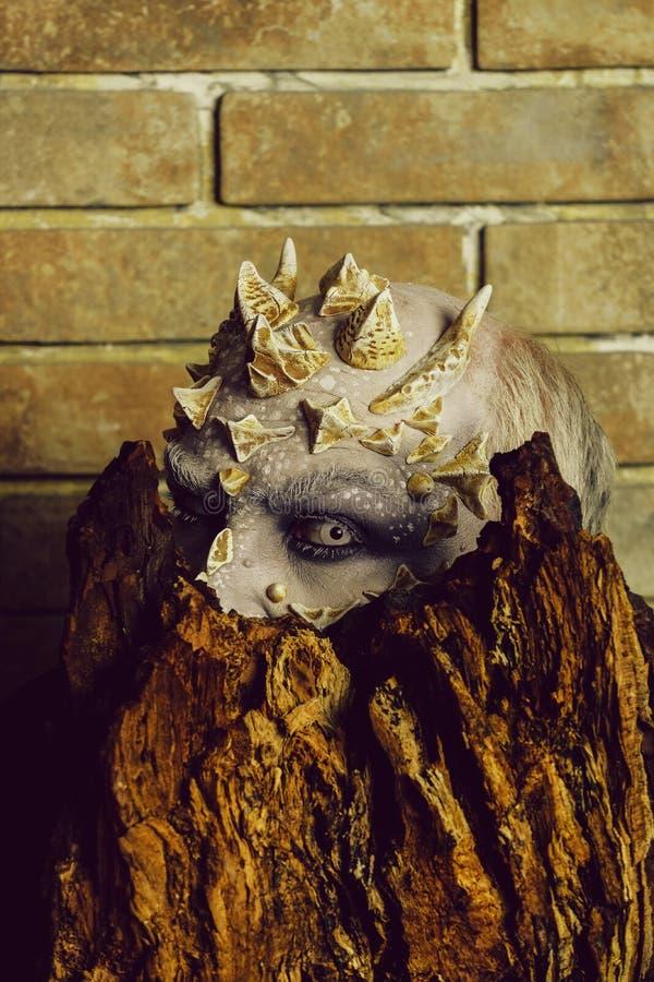 Spirito dell'albero e concetto di fantasia fotografia stock