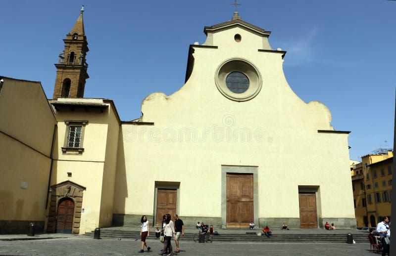 Spirito Di santo Chiesa, Φλωρεντία, Ιταλία στοκ εικόνα