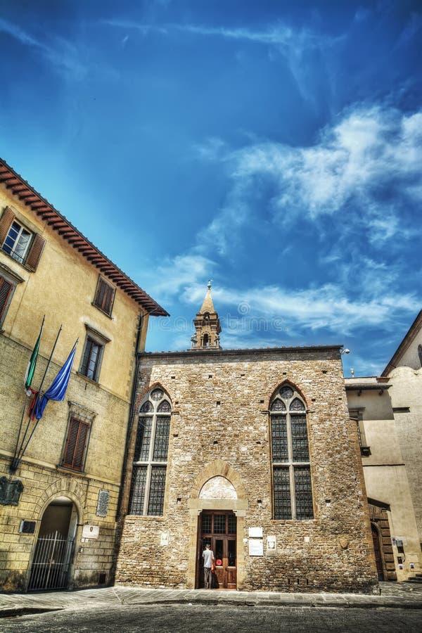 spirito santo της Φλωρεντίας εκκλη& στοκ εικόνες
