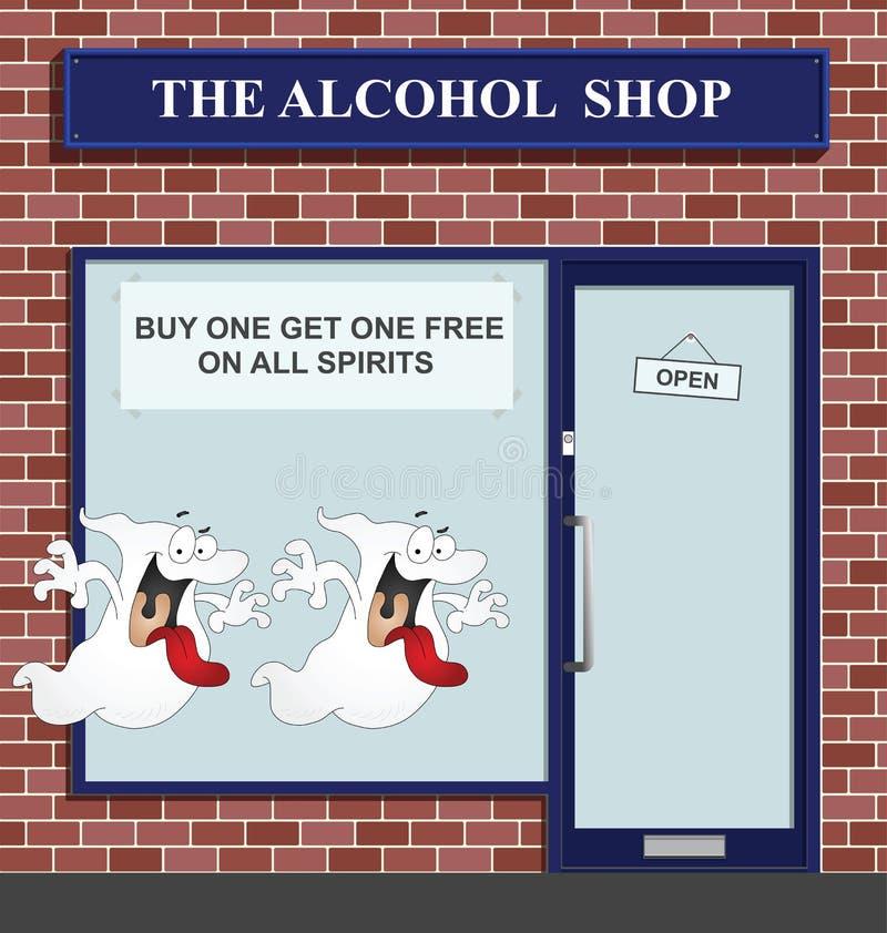 Download Spirits stock vector. Illustration of doorway, retail - 16694435