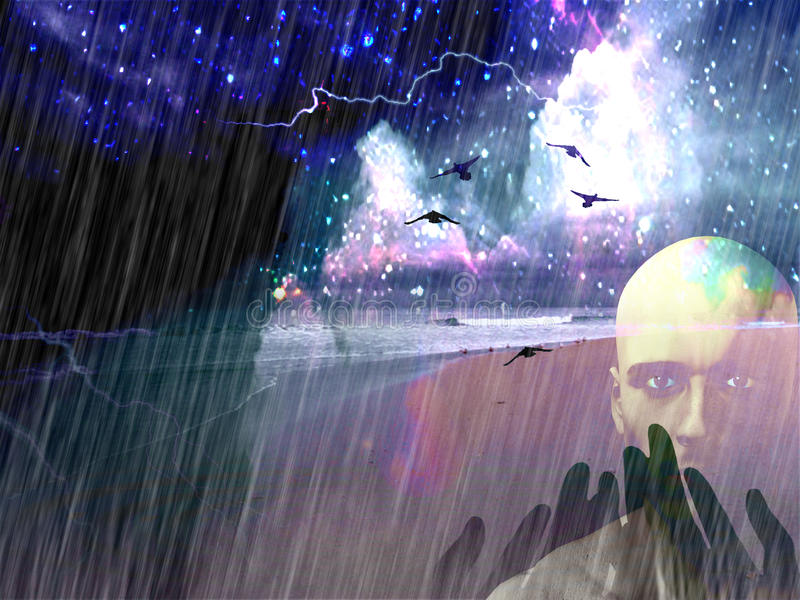 Download Spiritual Composition Stock Image - Image: 10687861