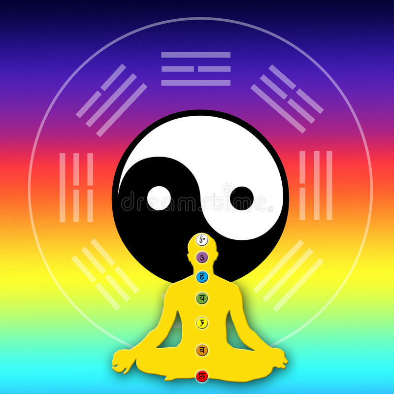 Spiritual Energy Royalty Free Stock Photos