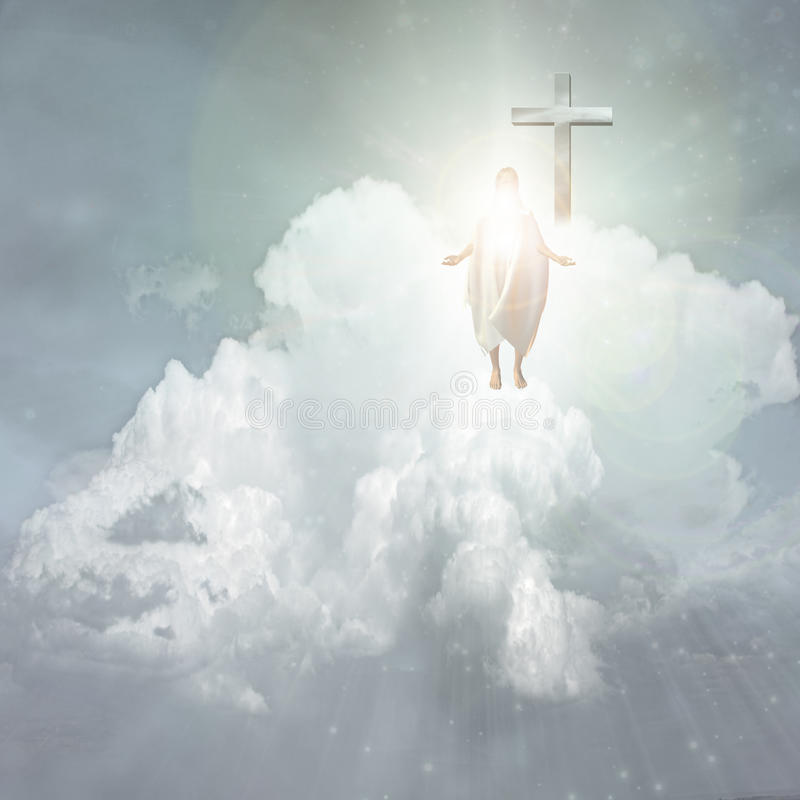 Download Spiritual Light stock illustration. Image of faith, moody - 13460712