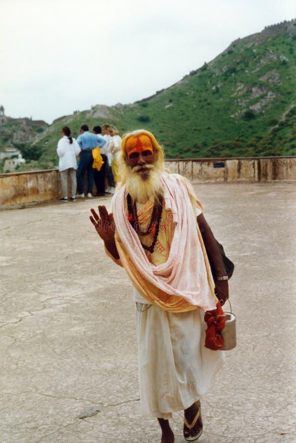 Download Spiritual man in india editorial photo. Image of head - 39505986