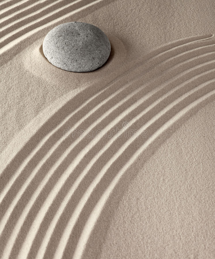 Spiritual meditation zen background stock image