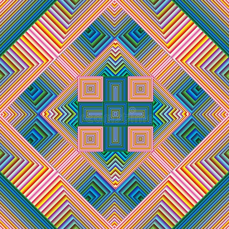 Download Spiritual Pattern stock illustration. Illustration of ethnic - 38483050