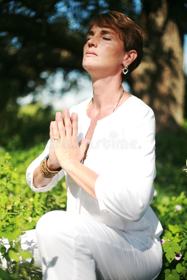 Download Spiritual Woman stock photo. Image of feminine, natural - 15996760