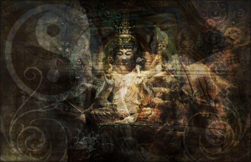 Spiritualiteit en Redding royalty-vrije illustratie