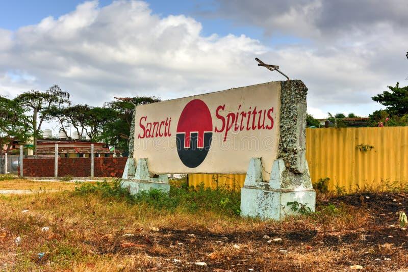 spiritus sancti Кубы стоковые фото
