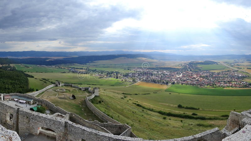 Spis Castle / Spissky hrad, Slovakia stock photos