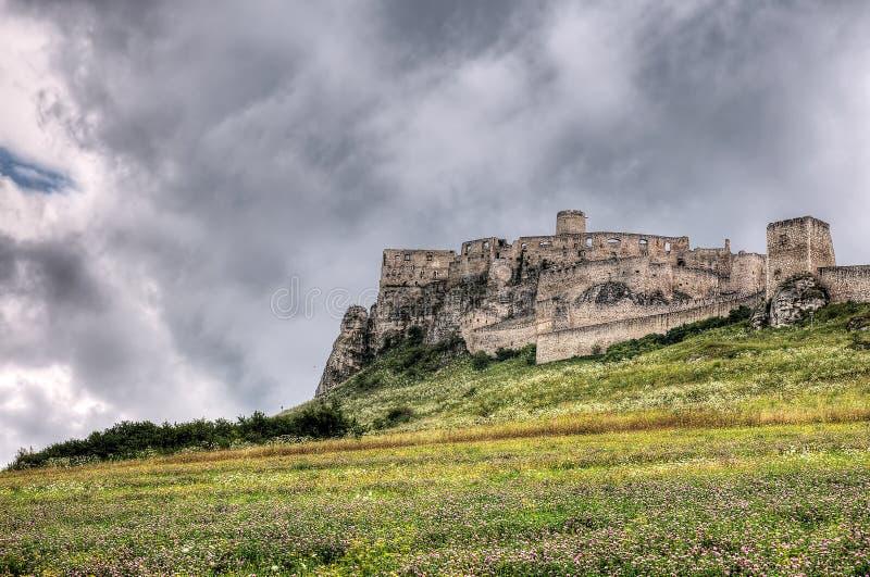 Spis Schloss stockbild