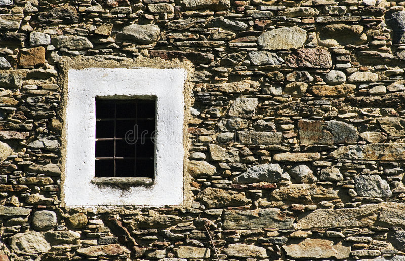 spisgallerfönster arkivbild