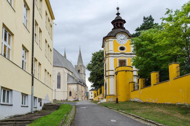Spisska Kapitula, Σλοβακία στοκ φωτογραφίες με δικαίωμα ελεύθερης χρήσης