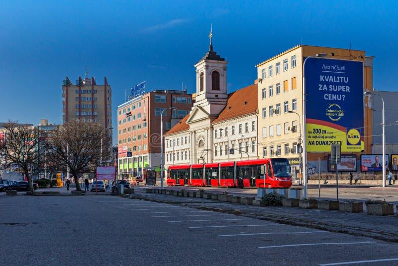 Spitalska street royalty free stock image
